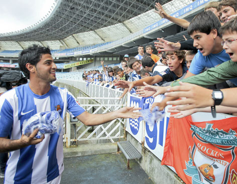 Carlos Vela announced at Real Sociedad